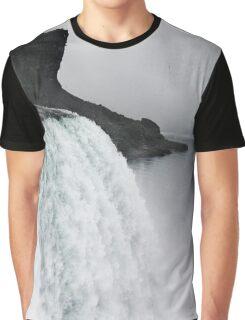 The Liquid Curtain Graphic T-Shirt