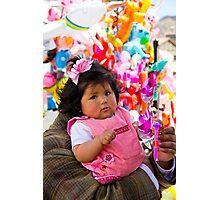 Colorfull Child Photographic Print