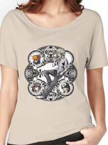 Kingdom Hearts: Dream Drop Distance TWEWY Circle Women's Relaxed Fit T-Shirt