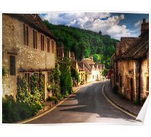 Castle Combe Road Poster
