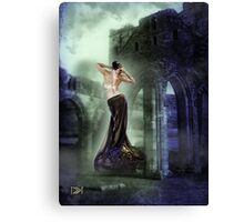 turn to stone Canvas Print
