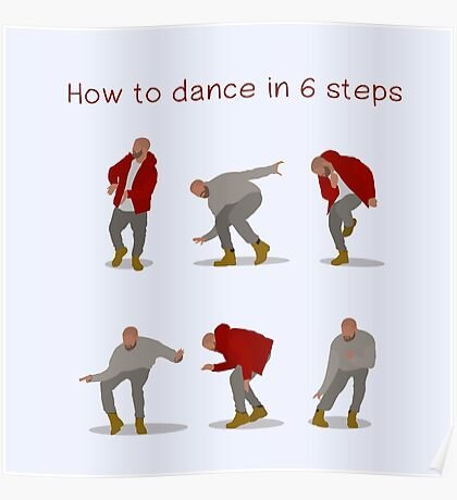 How To Dance With Style In 6 Steps Poster