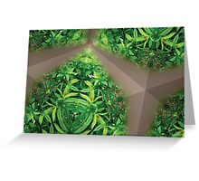 Prismatic Foliage 28 Greeting Card