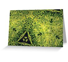 Prismatic Foliage 31 Greeting Card