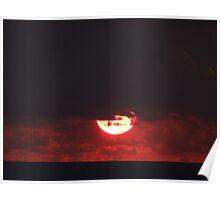 Dramatic Sunset Sequences V - Sequencias de una dramatica Puesta del Sol Poster