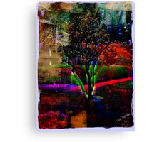 Psychedelic Outdoors Canvas Print