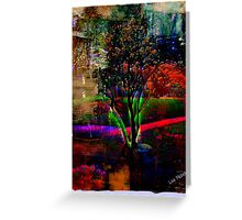 Psychedelic Outdoors Greeting Card