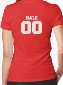 Derek Hale #00 Women's Fitted V-Neck T-Shirt