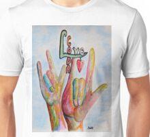 CODA - Children of Deaf Adults Unisex T-Shirt