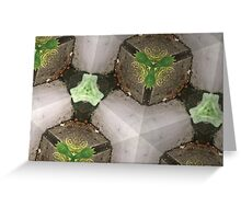 Prismatic Foliage 41 Greeting Card