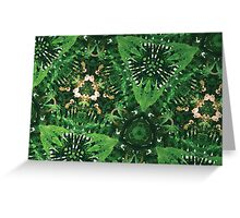 Prismatic Foliage 44 Greeting Card