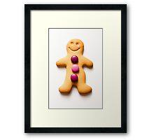gingerbread* Framed Print