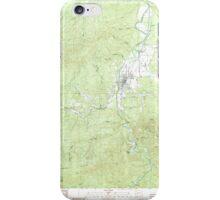 USGS Topo Map Washington State WA Pe Ell 243109 1986 24000 iPhone Case/Skin