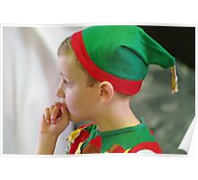 A rather reluctant elf Poster