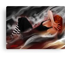 Molten Lead Fantasy Canvas Print