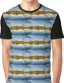 Roath Park Reflections HDR Graphic T-Shirt
