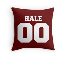 Derek Hale #00 Throw Pillow
