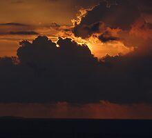 Las Marietas In Sunset Light - Las Marietas En La Luz De La Puesta Del Sol by Bernhard Matejka