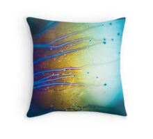 Alien Veins.  Throw Pillow