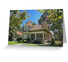 College Town Residence Greeting Card