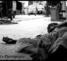"""where no one gives me space.."" I rest on my mother's lap .. MY MOTHERLAND 'INDIA' by through the camera lens"
