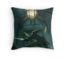 OoT: Skulltula vs Link Throw Pillow