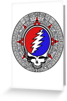 2012 Mayan Steal Your Face - Basic Color by Jessica Bone