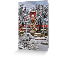 Ice Cold Holiday Greeting Card