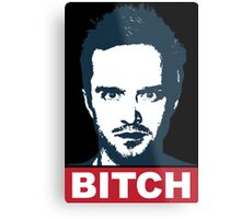BREAKING BAD JESSE PINKMAN BITCH Metal Print