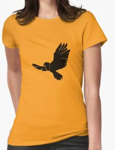 DBM Falcon Logo Womens Fitted T-Shirt