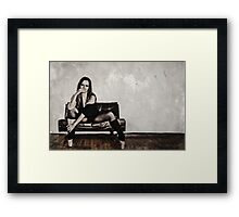 I Was Happy... At The Ballet Framed Print
