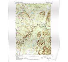 USGS Topo Map Washington State WA Cumberland 240748 1993 24000 Poster