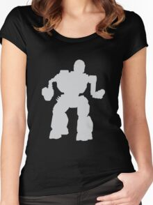Summoner Battlemech Grey Women's Fitted Scoop T-Shirt