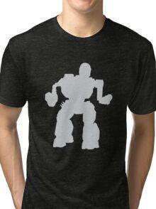 Summoner Battlemech Grey Tri-blend T-Shirt