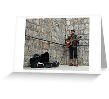 Solo Band Greeting Card