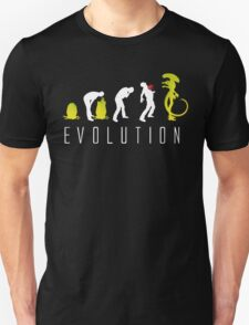 Evolution of Alien Funny Sci-Fi T-Shirt