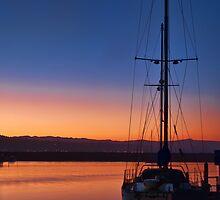 Harbor Sunrise by Eddie Yerkish