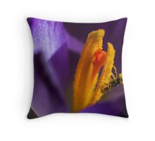 Smothered Throw Pillow