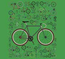 Love Fixie Road Bike One Piece - Short Sleeve