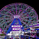 CONEY ISLAND'S WONDEROUS WONDER WHEEL by KENDALL EUTEMEY