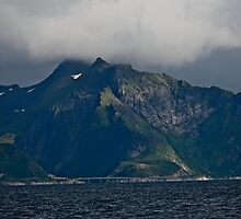 From the deck of the ferry you will have a perfect view of the Lofoten Islands. 2012 . by Andy Brown Sugar. by © Andrzej Goszcz,M.D. Ph.D