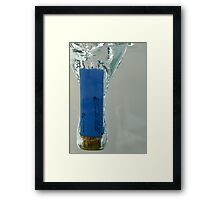 Dropped In Water 04 Framed Print