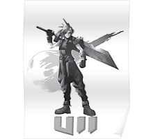 Final Fantasy VII Cloud Shirt Poster