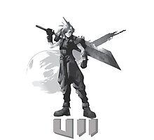 Final Fantasy VII Cloud Shirt Photographic Print