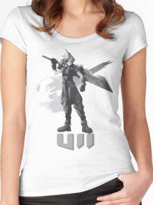 Final Fantasy VII Cloud Shirt Women's Fitted Scoop T-Shirt