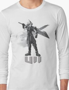 Final Fantasy VII Cloud Shirt Long Sleeve T-Shirt