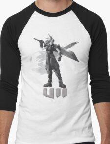 Final Fantasy VII Cloud Shirt Men's Baseball ¾ T-Shirt
