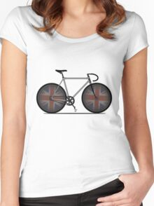British Cycling is Brilliant Women's Fitted Scoop T-Shirt