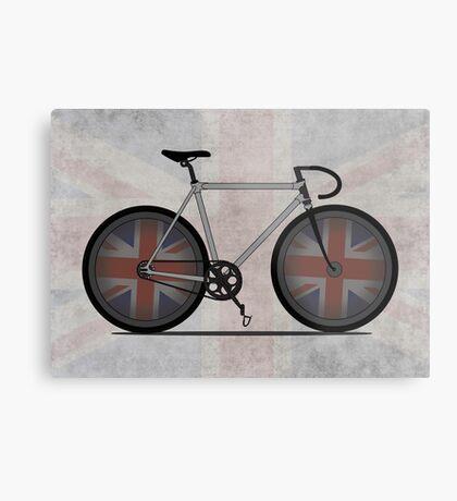 British Cycling is Brilliant Metal Print