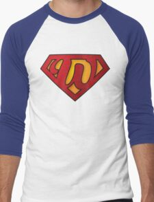 Super W Men's Baseball ¾ T-Shirt